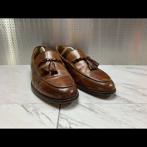 Johnston & Murphy dress loafers size 13 M BROWN